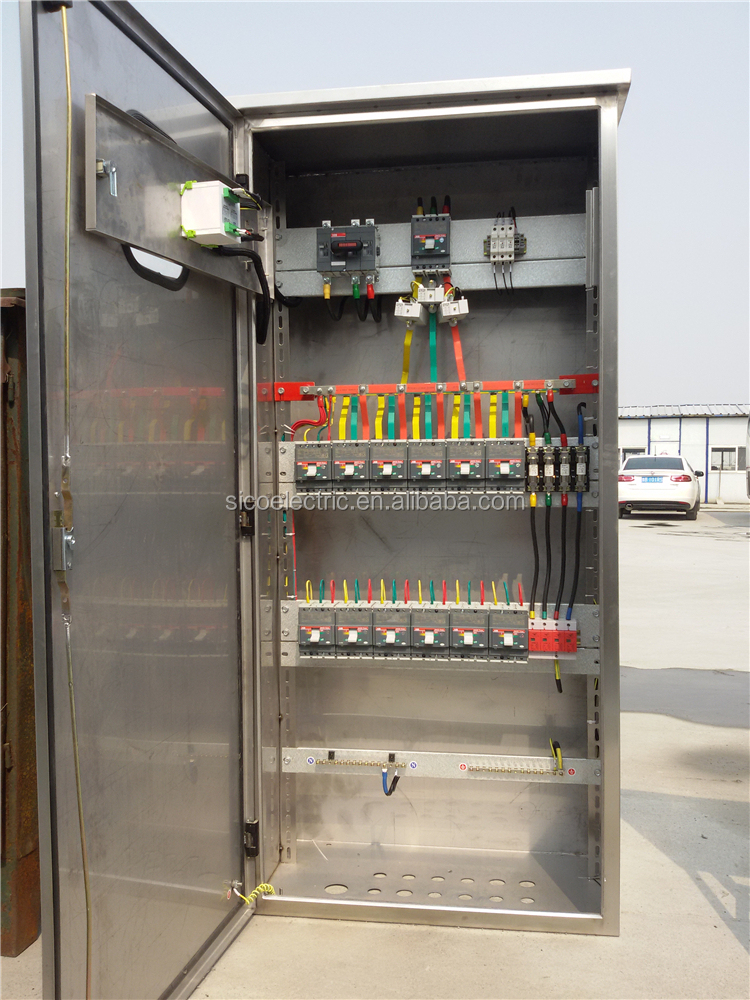 Sico Steel Electrical Cabinet/low Voltage Cubicle Switch Cabinet ...