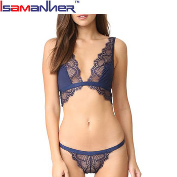 9a8a23b1941 Sexy Hot G-string Floral Lace Wide Strap Women Bra And Pants - Buy ...