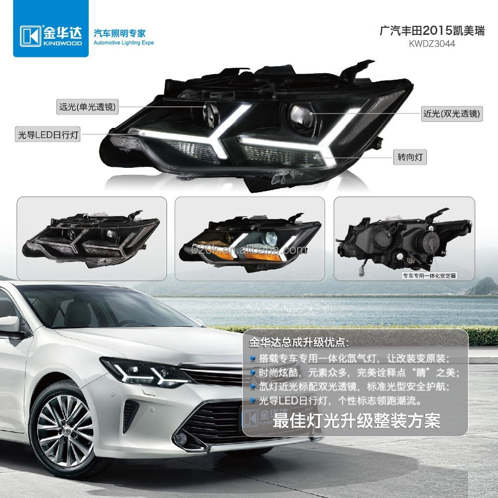 Headlight for Toyota Camry 2015 hid xenon light