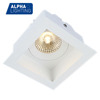 die casting gu10 mr16 fixture recessed square led downlight for hotel