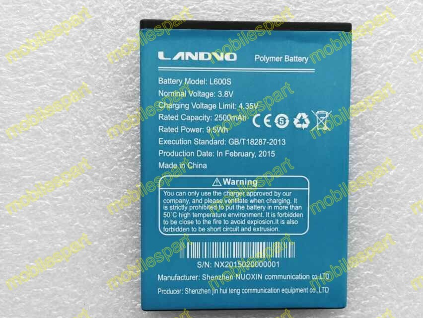 Landvo L600S аккумулятор 100% оригинальный 2500 мАч замена батарея резервного копирования для LANDVO L600S смартфон бесплатная доставка