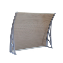 1000*1200mm protrude 100% bayer raw material diy polycarbonate awning