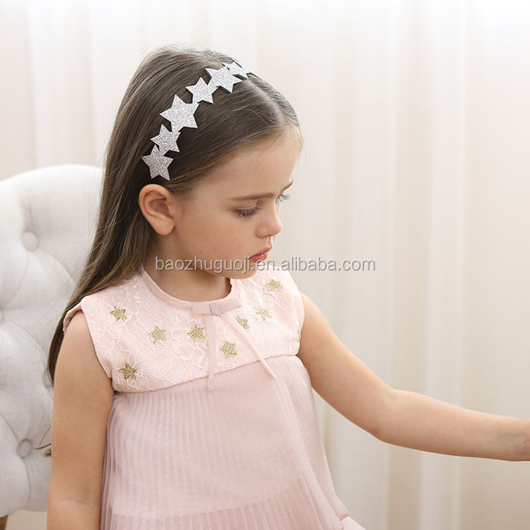 fancy cute baby girl hair clips hair bands for girls