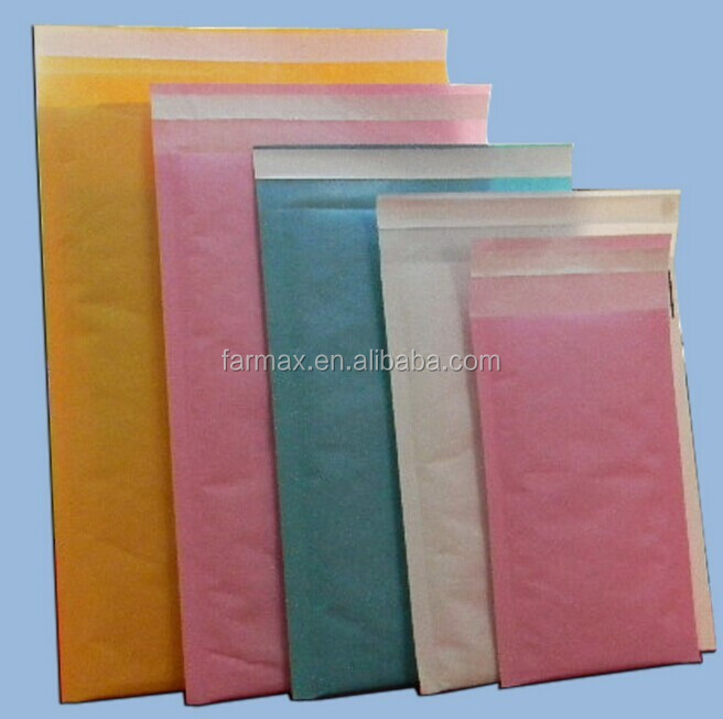 2015 Farmax Antisatic and reasonable price Wholesale Mail Liner Custom Printed Padded Envelopes
