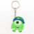 Desent Soft PVC rubber plastic keychain ring with custom PVC keychain logo