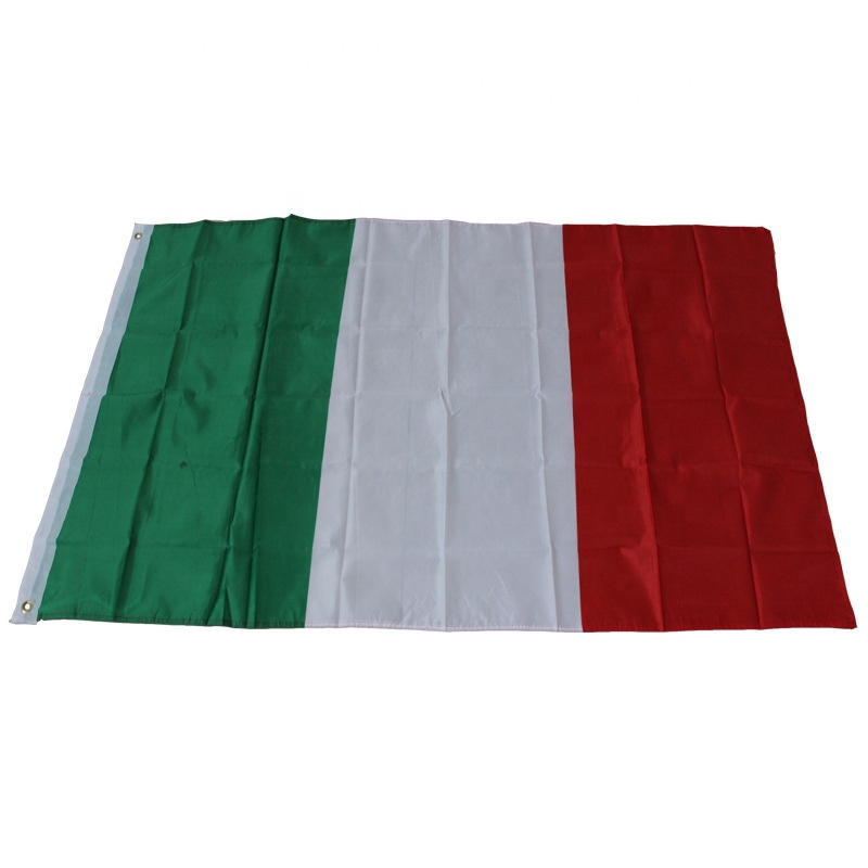 2020 Euro  soccer cheering 100% polyester 90*150cm 3*5 feet italian nation italy flag