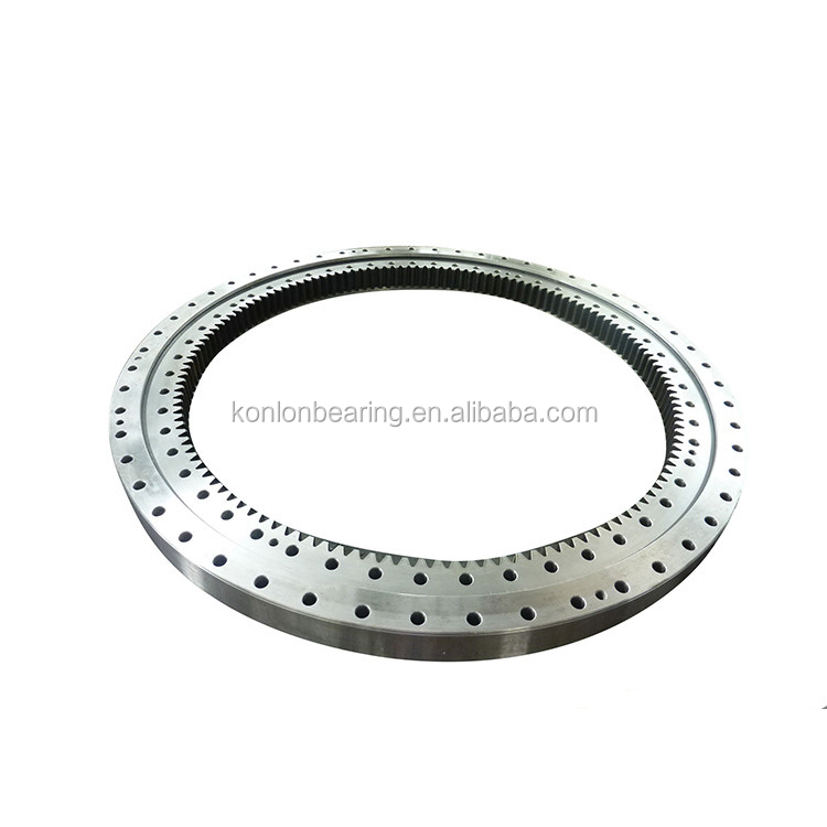 Worm drive slew bearing for offshore crane,excavator slewing bearing