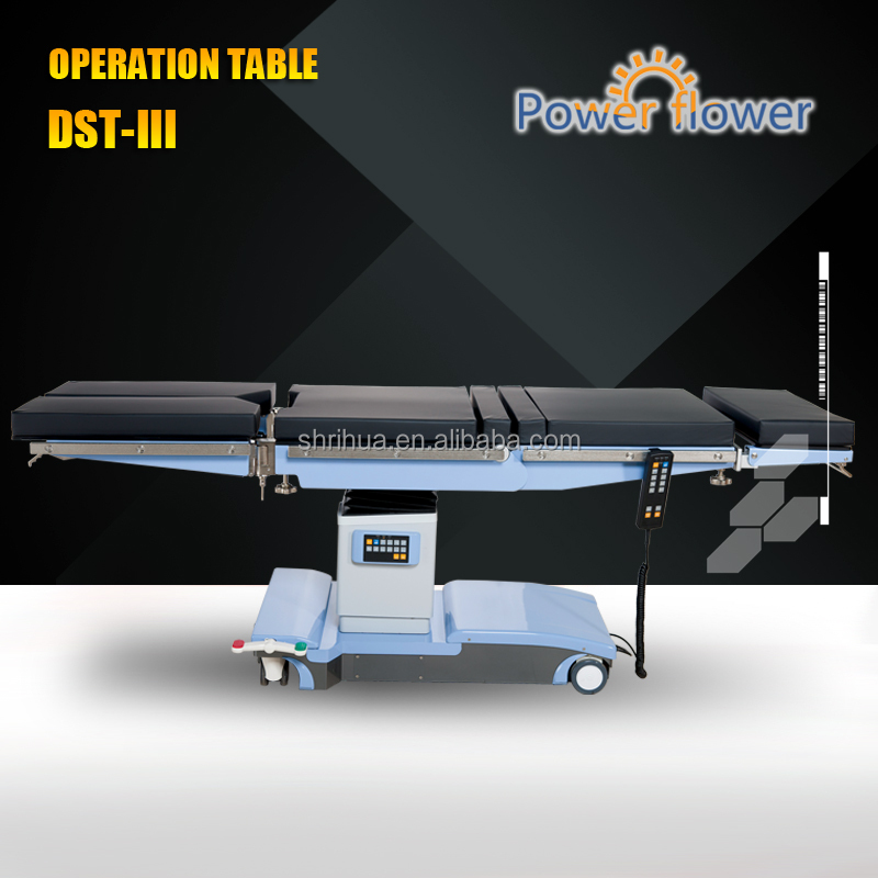 2016 new products operation table DST-III electric hydraulic operation theater table