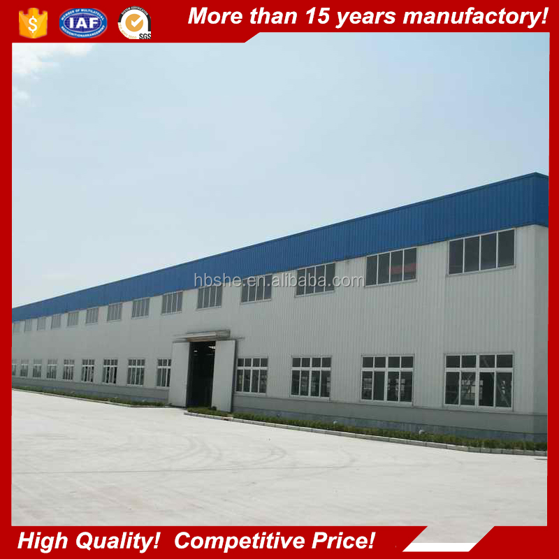 low cost construction building prefabricated metal factory workshop with top quality