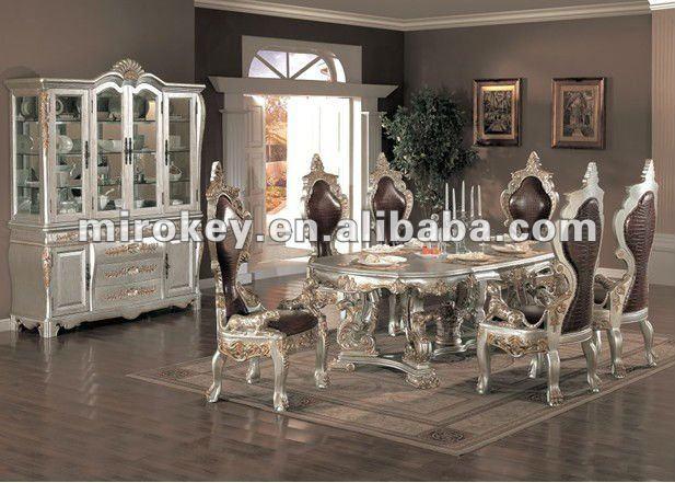 Antigo de madeira sala de jantar conjunto cl ssico for Ensemble de salle a diner