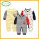 2017 Alibaba Hot Sale Infant Jumpsuits Baby Boys' Footed One Piece Sleeper