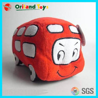 Good price plush toy bus