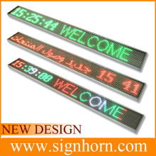 Most beautiful red, blue, green, white color mini battery powered led message board
