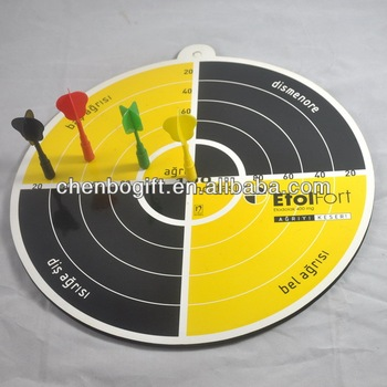 Magnetic Dart Board With 3pcs Magnetic Darts Magnetic Dart Game For
