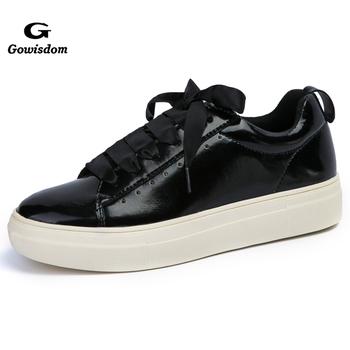 cf84ff20c 2018 Wholesale Plain White Women Flat Shoes - Buy Women Shoes ...