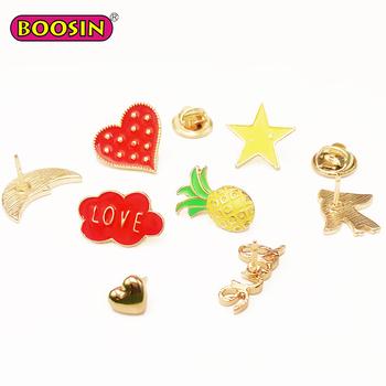 Boosin Manufacturer Custom Hard Soft Glitter Enamel Pin Set Badge Making  Enamel Pin Dropshipping