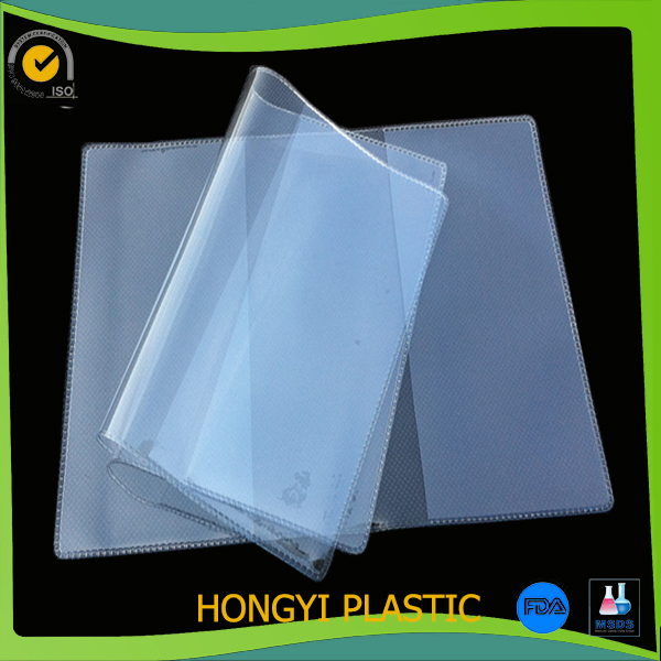 clear book protectors Vinyl book cover jackets notebook sleeves PVC binding covers