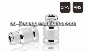 "3/8""high quality CR-V Hex bit adapter socket"