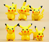one set lovely pikachu japanese action figure,hot selling cartoon character action plastic toys,OEM by China manufacturer