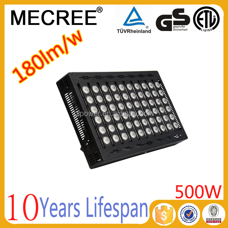 China supplier energy saving lamp 500w led construction sites lighting/ led auditorium light replacement for 1000w halogen lamp