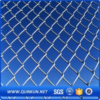 Chainlink fencing with double swing gate