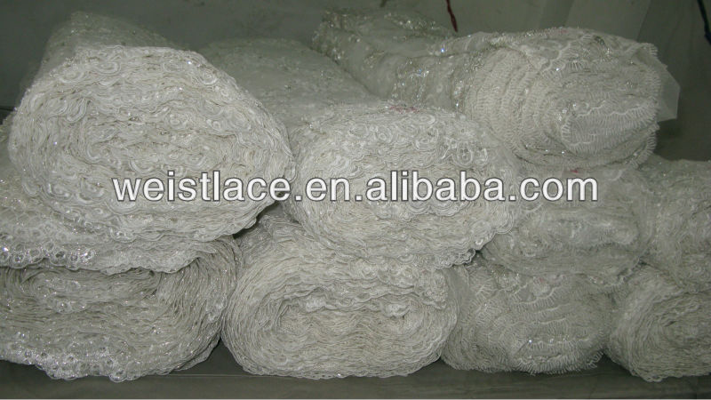 Cord Lace Fabric Bridal Tulle Lace