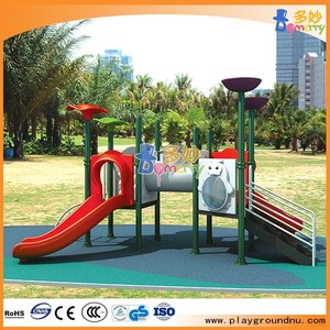 hot sale children outdoor playground plastic slide