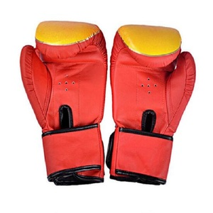 Semi Contact gloves sparring mitt Special imported Shiny artificial leather