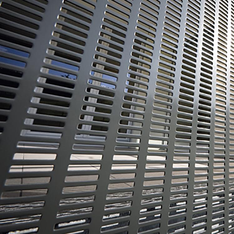 Sheet Metal Fence