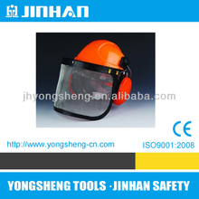 JINHUA JINHAN good sale high quality safety helmet with mesh visor,safety helmet with clear visor