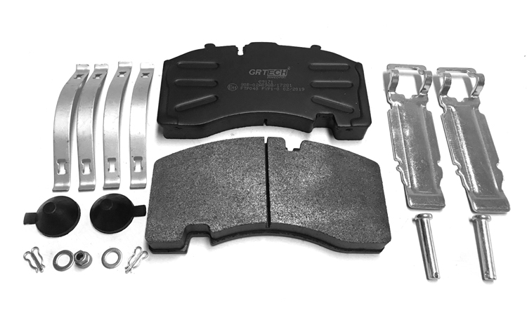 WVA 29171 good price automobile heavy truck brake pads with kits for BPW