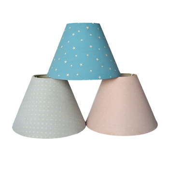 Wholesale cheap mini cone TC fabric chandelier lamp shade for table lamp