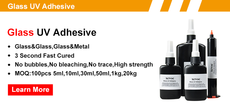 Curing In 3 Seconds UV Glue For Acrylic Clear PMMA to Metal UV Curing Adhesive Transparent Shadowless Adhesives