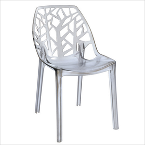 Factory price PP hollow tree branch chair plastic chair