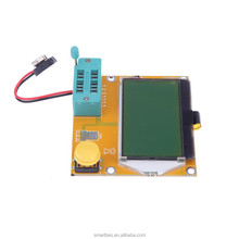 ~Smart Electronics~LCD Backlight ESR Meter Led Transistor Tester MOS/PNP/NPN Yellow-green PCB