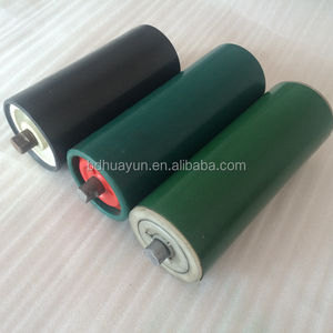 baoding kalmar spare parts plastic tube roller flexible conveyor