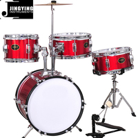JW144-P2 4PCS Junior Drum Set/Drum Kits