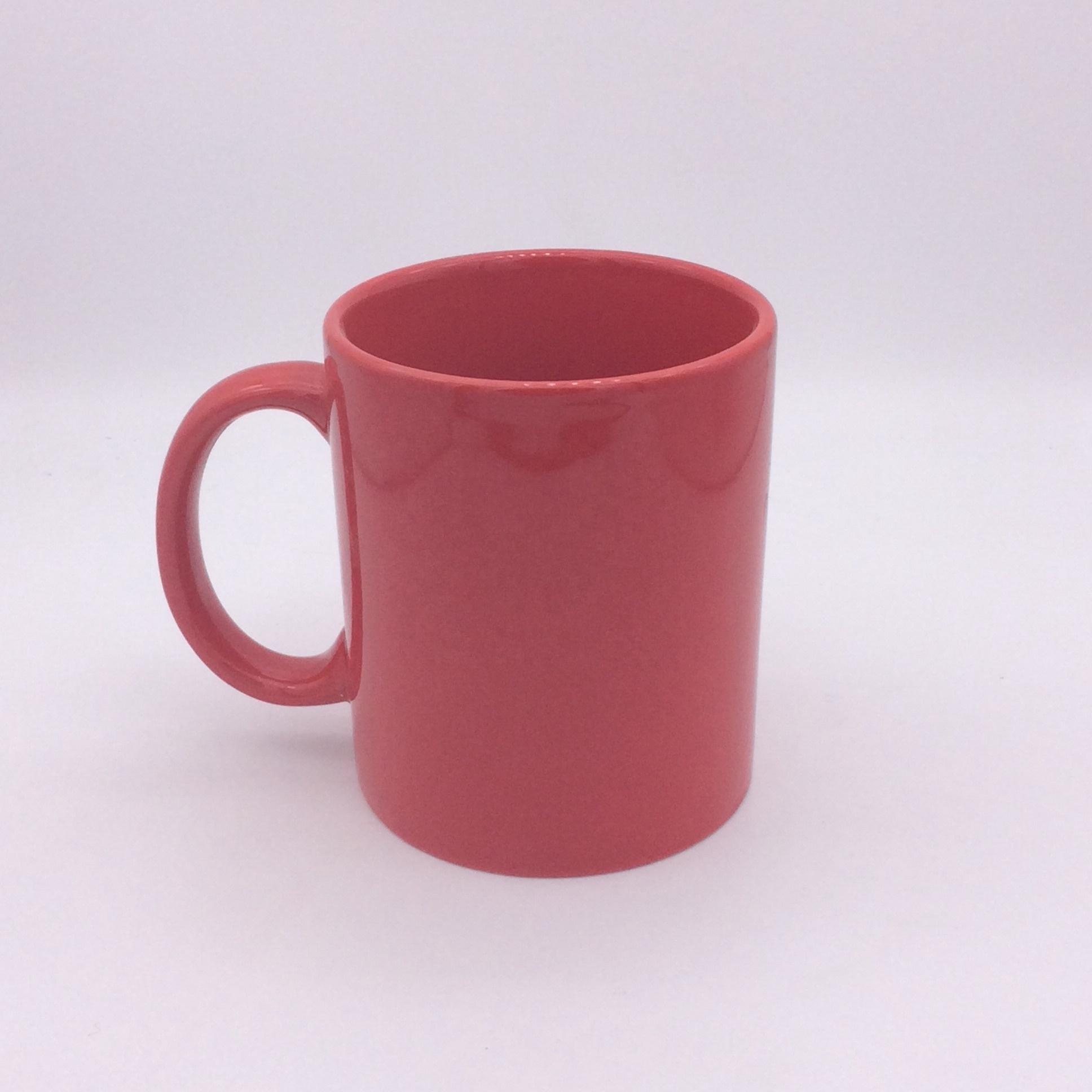 Sublimatie Porselein Coffee Cup Foto Kleur Veranderende Mok Hanger