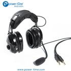 Super Light Carbon Fiber Headphone Noise Cancelling PNR Pilot Aviation Headset