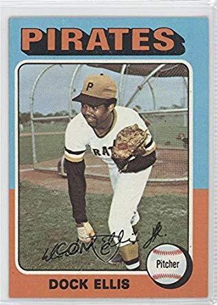 Dock Ellis (Baseball Card) 1975 Topps - [Base] #385