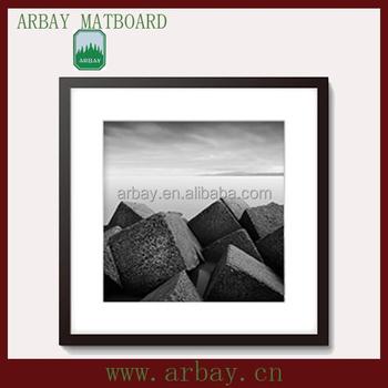 Wholesale Decorative Shadow Box Frame Whitemat Paper Photo Frame