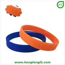 Bulk cheap silicone wristbands embossed/ top quality wholesale silicone bracelet rubber band/ silicone bangle