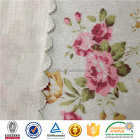 Printed upholstery fabric for American market