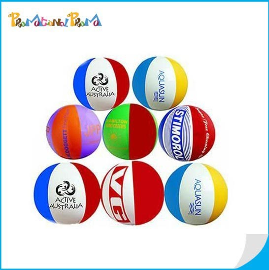 Colorful PVC Beach Balls in Bulk for Customuize