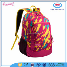 Wholesale latest fashion school backpack used,teenage girl backpack