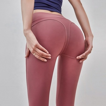 Yoga Running Activewear Work out Gym Running Fitness Leggings and bra for women gym pants leggings with custom logo