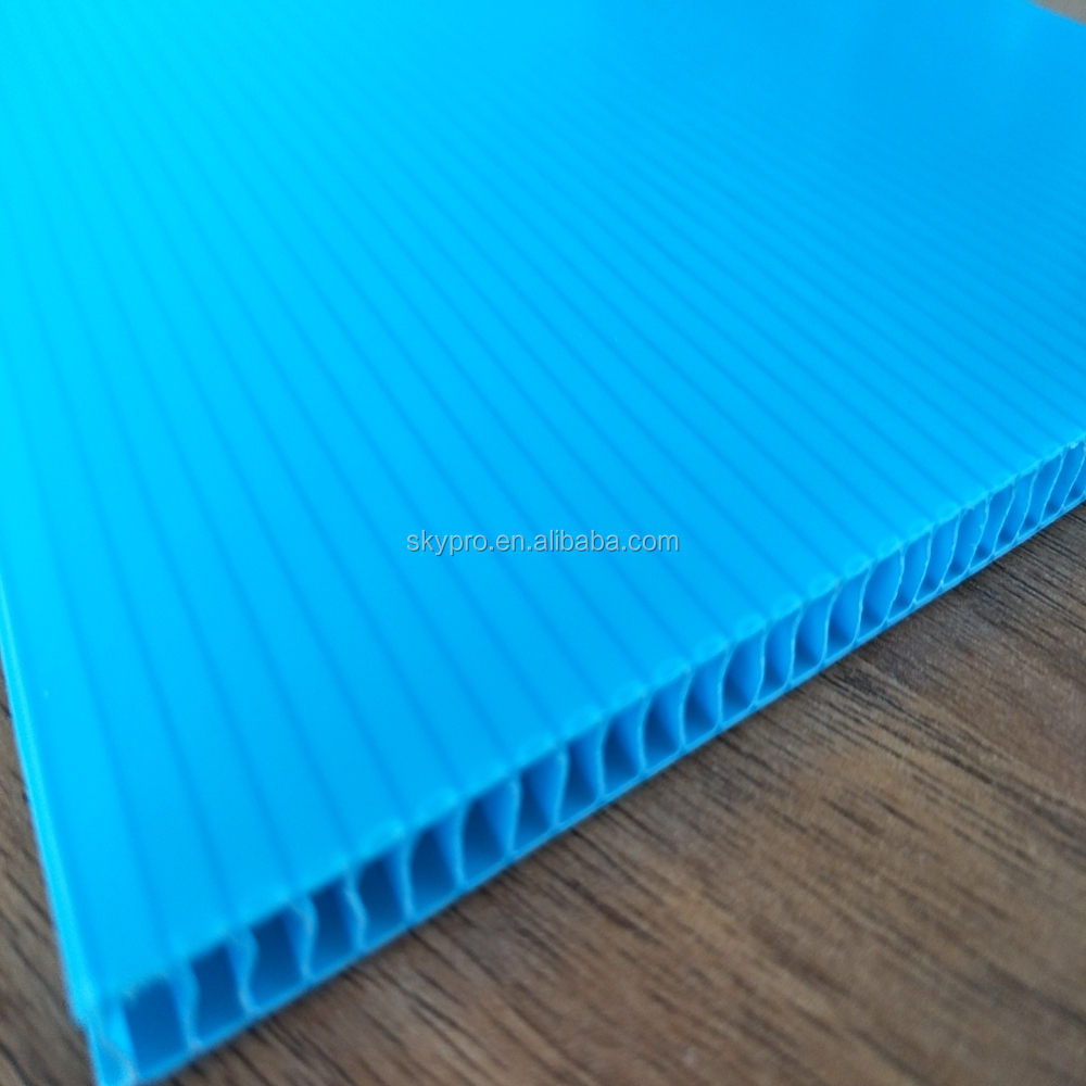 Customized rigid pp plate sheet materials for making boxes
