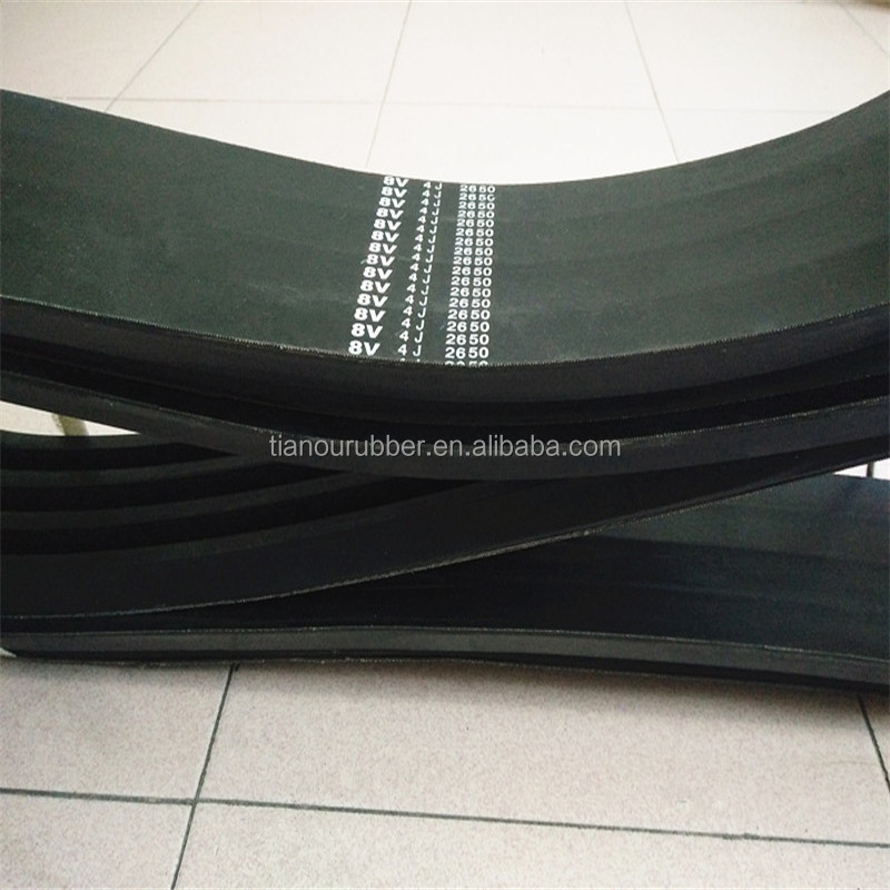rubber v belt /banded classical v-belt/ industrial rubber v-belt