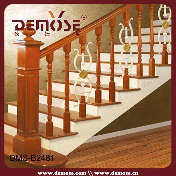 Lowes exterior barandilla para escaleras de madera pasos y - Barandilla madera exterior ...