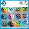 High quality qc passed sticker label in Xiamen